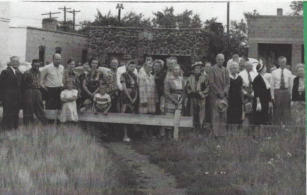 St Johns Ground Breaking 1952