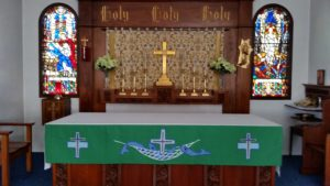 Altar St. John's Episcopal-Lutheran Church Williams. AZ